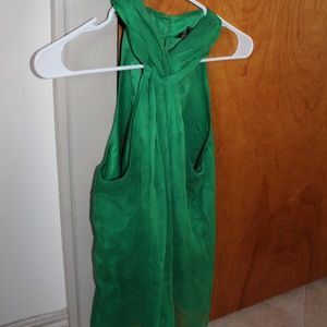 The Limited Green Halter Blouse Size S